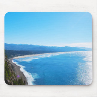 View of Manzanita Beach, Oregon Coast Mouse Pad
