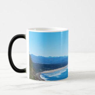 View of Manzanita Beach, Oregon Coast Coffee Mugs
