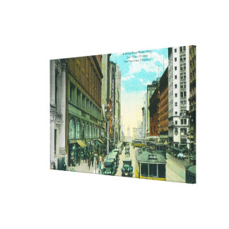 View of Market Street from Grant Street Stretched Canvas Prints