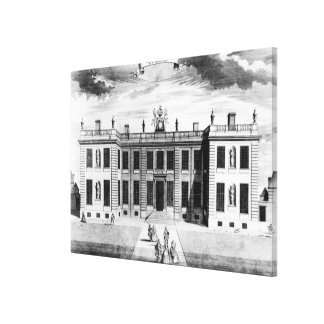 View of Marlborough House in Pall Mall Canvas Prints