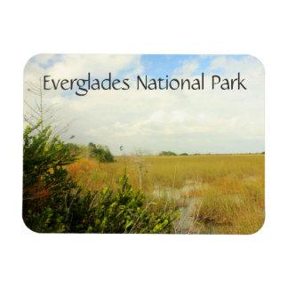 View of Marsh, Everglades National Park, Florida Rectangular Photo Magnet