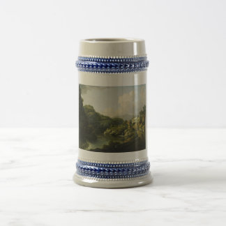 View of Matlock Bath by William Marlow Beer Stein