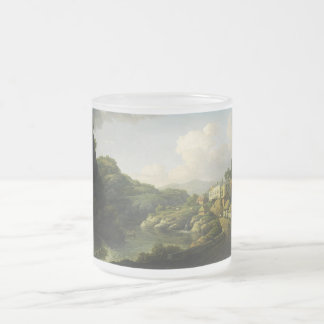 View of Matlock Bath by William Marlow Frosted Glass Coffee Mug