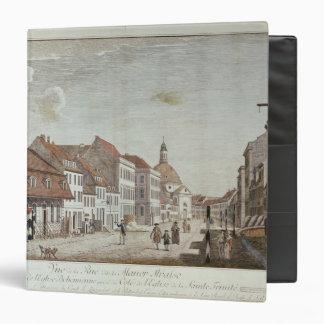 View of Mauer Strasse, Berlin, 1776 Binder