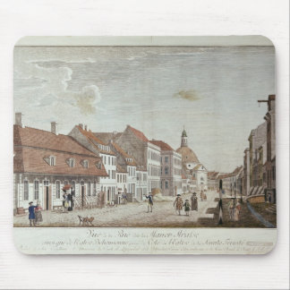 View of Mauer Strasse, Berlin, 1776 Mouse Pad