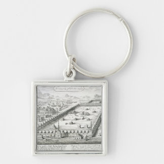 View of Mecca, from 'Entwurf einer historischen Ar Keychain