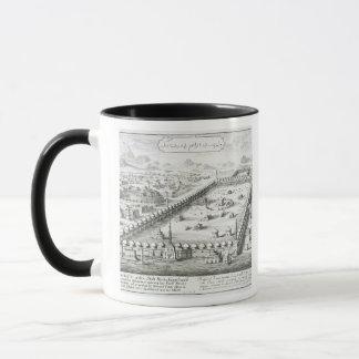View of Mecca, from 'Entwurf einer historischen Ar Mug
