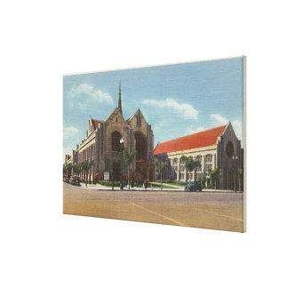 View of Methodist Church Canvas Print