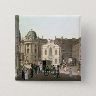 View of Michaelerplatz showing the Burgtheater Button