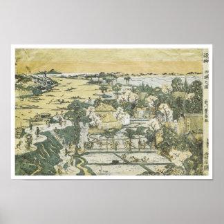View of Mimeguri, Toyoharu, 1780 Poster