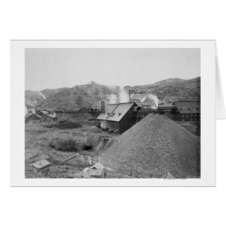 """View of Mining Factory """"Homestake Works"""" Card"""