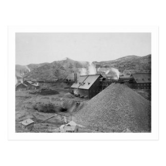 """View of Mining Factory """"Homestake Works"""" Postcard"""