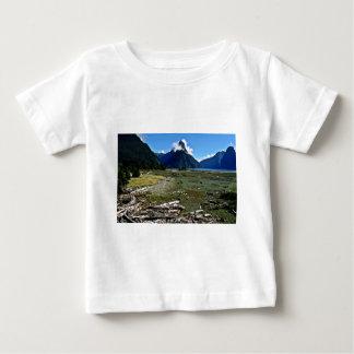 View Of Mitre Peak, Milford Sound Tee Shirts