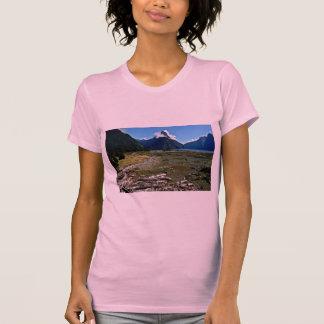 View Of Mitre Peak, Milford Sound Tee Shirt