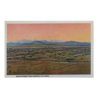 View of Mohave Desert Posters