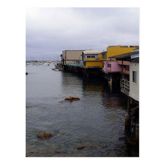 View of Monterey, CA Postcard