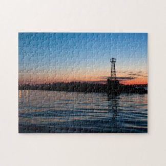 View Of Montevideo At Dawn, Uruguay Jigsaw Puzzle