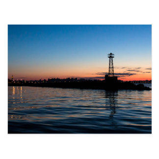 View Of Montevideo At Dawn, Uruguay Postcard