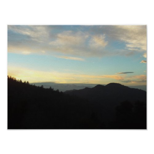 View of Mount Baldy From San Bernardino Mountains zazzle_print