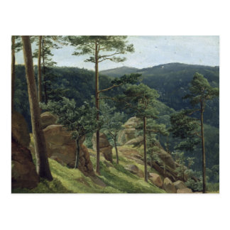 View of Mount Brocken, 1829 Postcard