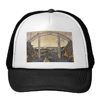 View of Mount Fuji Trucker Hat