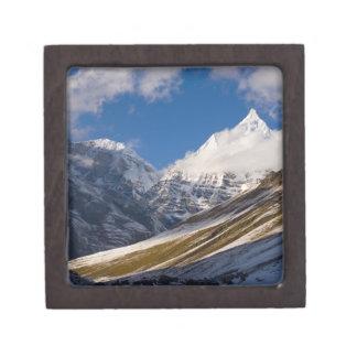View of Mount Jichu Drake, Bhutan. Gift Box