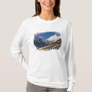 View of Mount Jichu Drake, Bhutan. T-Shirt