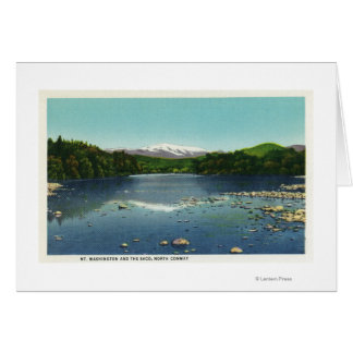 View of Mount Washington and the Saco Card