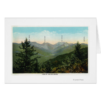View of Mt. Marcy, Saddleback, Sawtooth Card