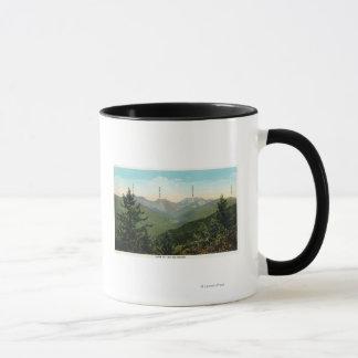 View of Mt. Marcy, Saddleback, Sawtooth Mug