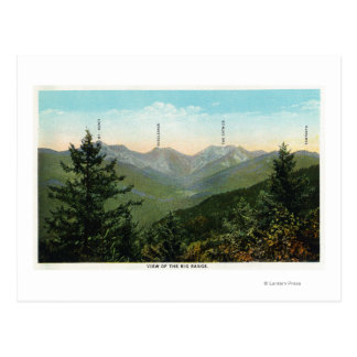 View of Mt. Marcy, Saddleback, Sawtooth Postcard