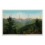 View of Mt. Marcy, Saddleback, Sawtooth Poster