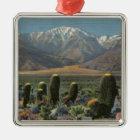 View of Mt. San Jacinto Near Palm Springs Metal Ornament