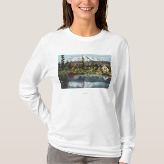 View of Mt. Shasta from the Sisson Fish Hatchery T-Shirt
