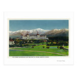 View of Mt Washington Hotel, Presidential Range Post Card