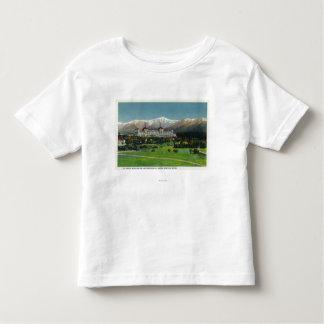 View of Mt Washington Hotel, Presidential Range Toddler T-shirt