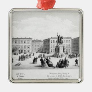 View of Munich, 1869 Metal Ornament