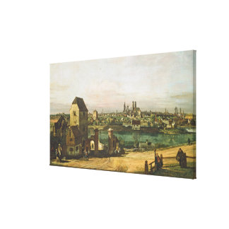 View of Munich, c. 1761 (oil on canvas) Canvas Print