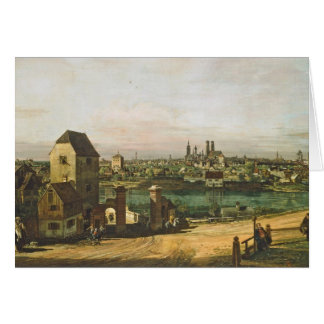 View of Munich, c. 1761 (oil on canvas) Card
