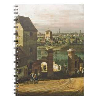 View of Munich, c. 1761 (oil on canvas) Notebook