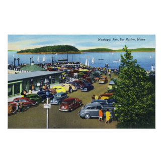 View of Municipal Pier Print