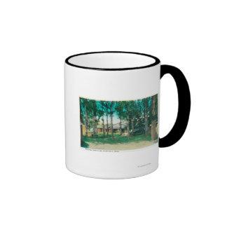 View of Municipal Tourist Park Idaho Falls, ID Coffee Mugs