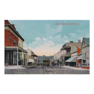 View of Myers StreetOroville, CA Print