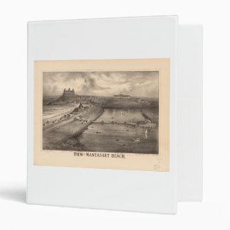 View of Nantasket Beach by Richard Mallory (1879) Binder