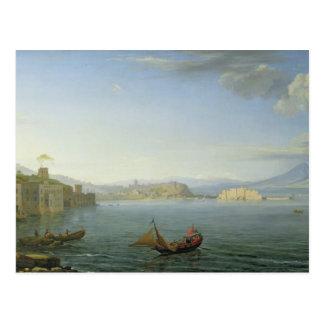 View of Naples, 1750 Postcard