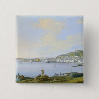 View of Naples Pinback Button