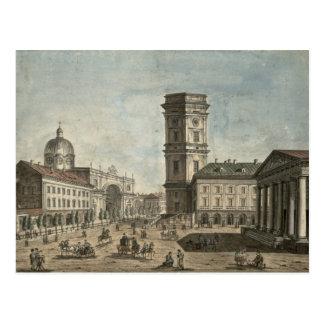 View of Nevsky Prospekt, St. Petersburg, 1810 Postcard