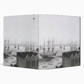 View of New Orleans taken from the Lower Cotton Pr 3 Ring Binder