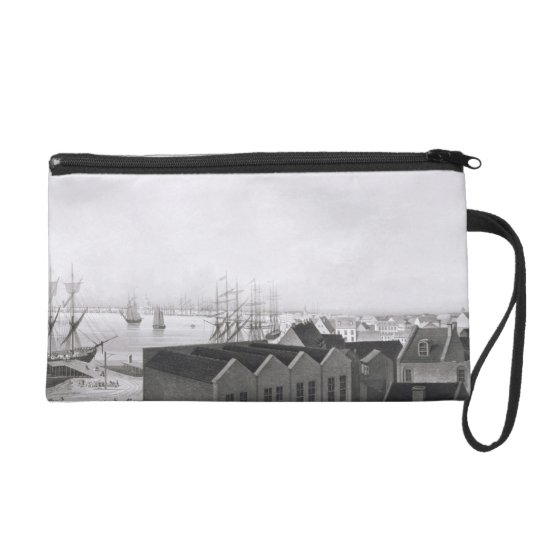 View of New Orleans taken from the Lower Cotton Pr Wristlet Purse