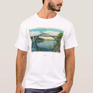 View of New Suspension Bridge T-Shirt